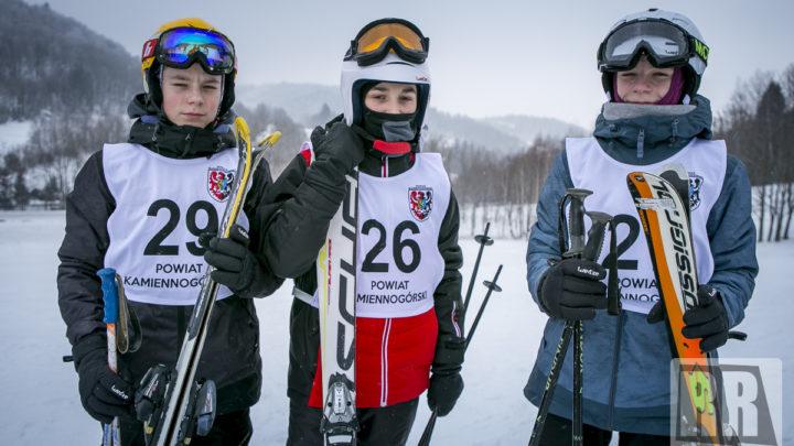 Mistrzostwa Powiatu Kamiennogórskiego w Narciarstwie Alpejskim 2019