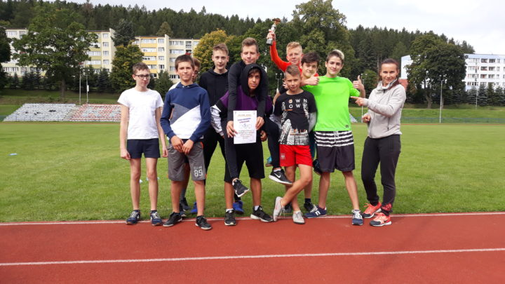 Sztafetowe biegi przełajowe Igrzyska Młodzieży Szkolnej