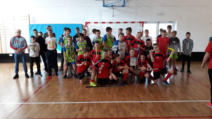 Finał Strefy Jeleniogórskiej w unihokeju chłopców Igrzyska Młodzieży Szkolnej