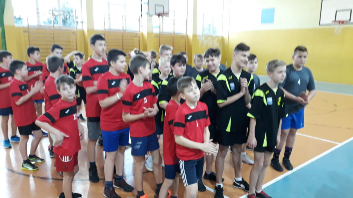 Mini piłka koszykowa chłopców – Igrzyska Dzieci