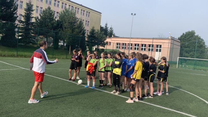 Piłka nożna dziewcząt Igrzyska Młodzieży Szkolnej