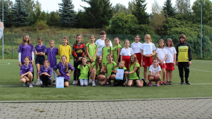 Piłka nożna dziewcząt Igrzyska Dzieci