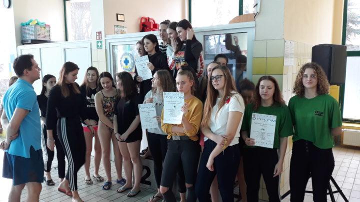 Pływanie drużynowe dziewcząt i chłopców – Licealiada