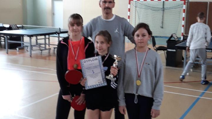 Finał Strefy Jeleniogórskiej w tenisie stołowym dziewcząt – Igrzyska Dzieci