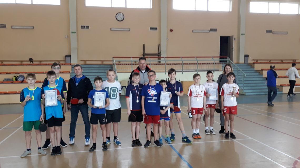 Finał Strefy Jeleniogórskiej w tenisie stołowym chłopców – Igrzyska Dzieci