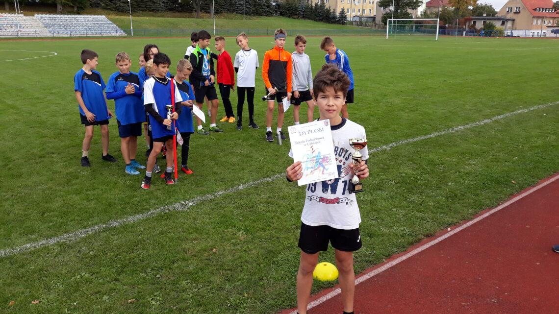 Sztafetowe biegi przełajowe dziewcząt – Igrzyska Dzieci