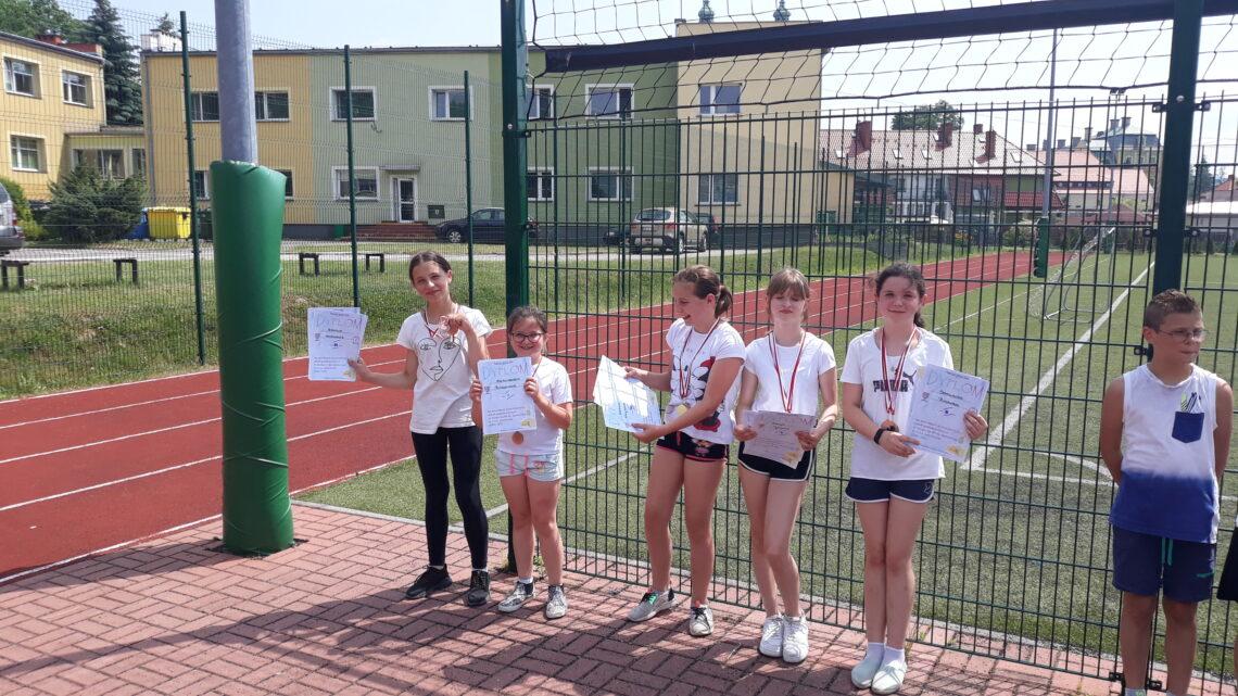 Zawody Powiatowe w trójboju lekkoatletycznym klas III oraz IV