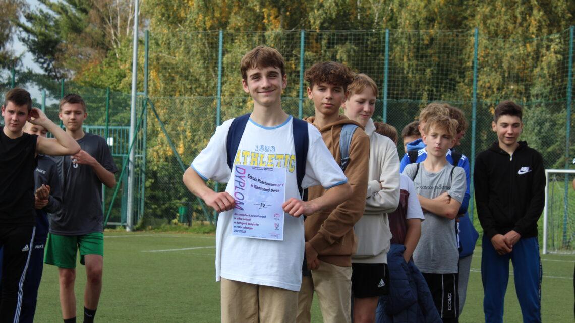 Piłka nożna chłopców Igrzyska Młodzieży Szkolnej